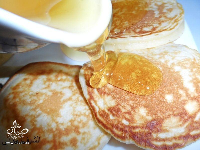 البان كيك بعسل النحل والشوكليت شيبس من مطبخ الشيف مونى بالصور hayahcc_1446211196_396.jpg