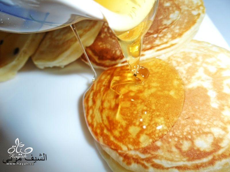 البان كيك بعسل النحل والشوكليت شيبس من مطبخ الشيف مونى بالصور hayahcc_1446211196_835.jpg