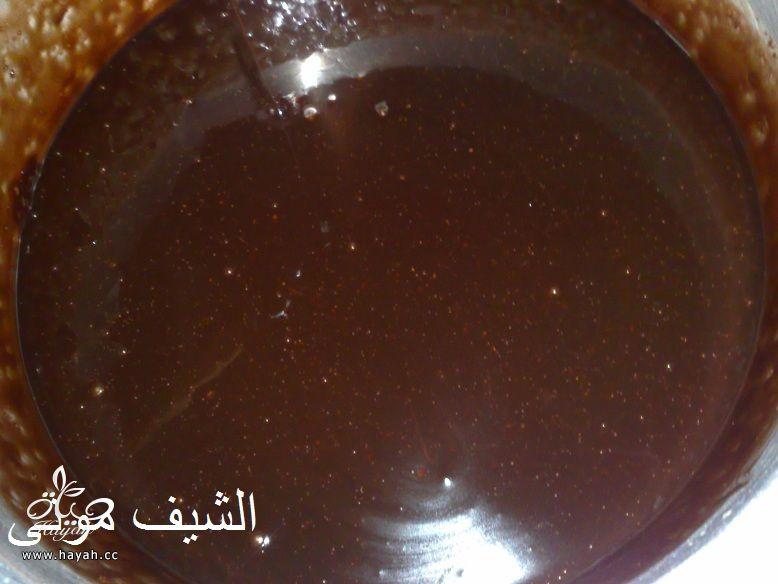 تورتة عيد ميلاد بسيطة وشيك بجناش الشوكولاته للمبتدئات من مطبخ الشيف مونى بالصور hayahcc_1447846399_349.jpg