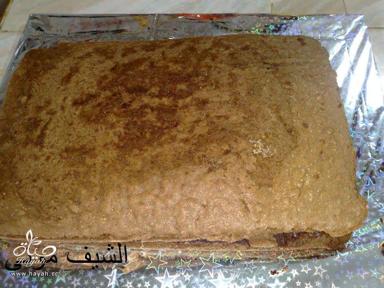 تورتة عيد ميلاد بسيطة وشيك بجناش الشوكولاته للمبتدئات من مطبخ الشيف مونى بالصور hayahcc_1447846402_116.jpg