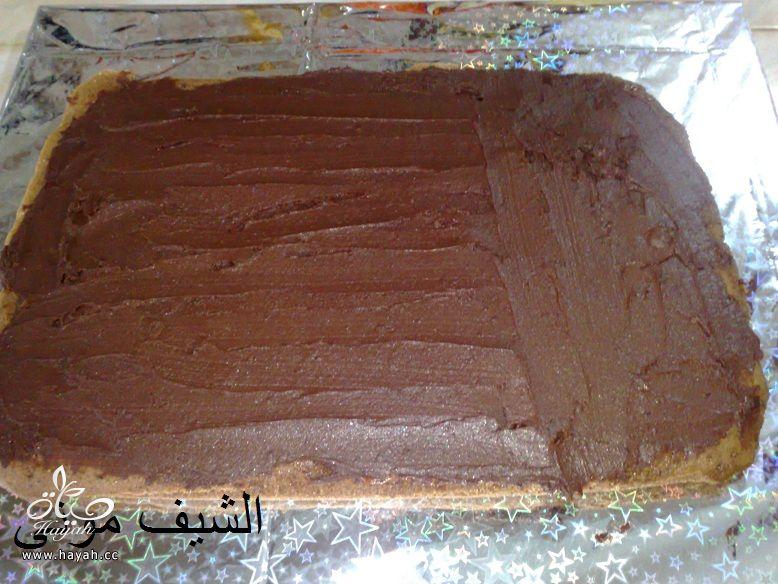 تورتة عيد ميلاد بسيطة وشيك بجناش الشوكولاته للمبتدئات من مطبخ الشيف مونى بالصور hayahcc_1447846402_974.jpg
