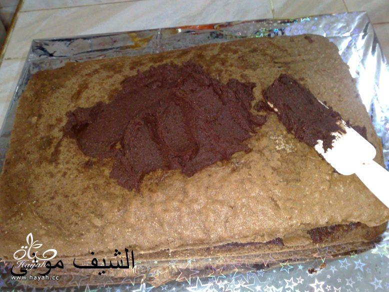 تورتة عيد ميلاد بسيطة وشيك بجناش الشوكولاته للمبتدئات من مطبخ الشيف مونى بالصور hayahcc_1447846403_442.jpg