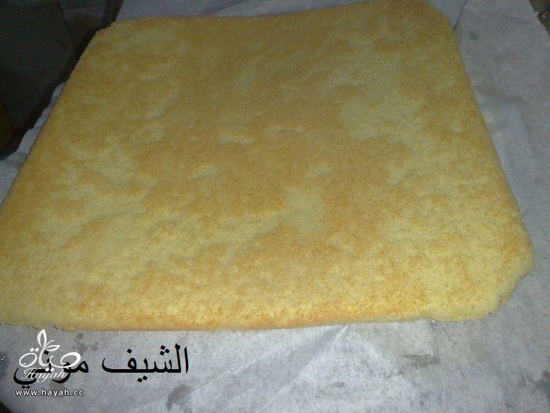 تورتة عيد الأم بالشوكولاته البيضاء والمالتيزرز من مطبخ الشيف موني hayahcc_1459858746_592.jpg