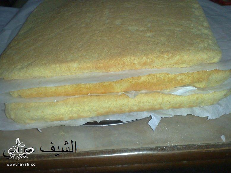 تورتة عيد الأم بالشوكولاته البيضاء والمالتيزرز من مطبخ الشيف موني hayahcc_1459858746_607.jpg