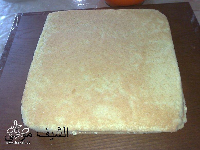 تورتة عيد الأم بالشوكولاته البيضاء والمالتيزرز من مطبخ الشيف موني hayahcc_1459858750_499.jpg