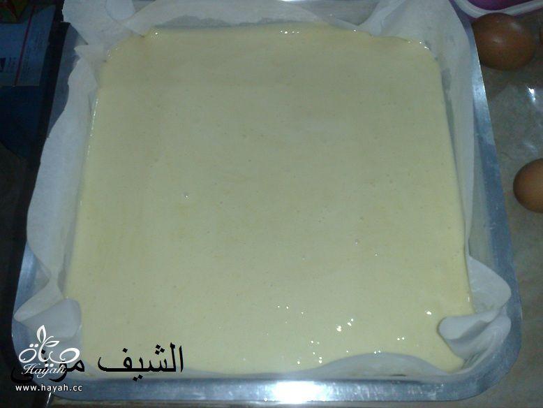 تورتة عيد الأم بالشوكولاته البيضاء والمالتيزرز من مطبخ الشيف موني hayahcc_1459858754_662.jpg