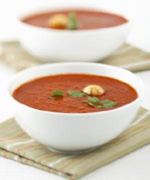 طريقة تحضير وعمل شوربة الطماطم 13989