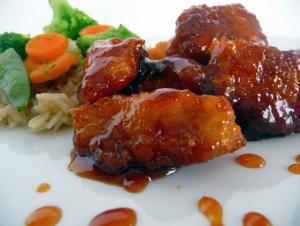 لدجاج الحامض الحلو الأرز الأسمر image_1323640142.jpe
