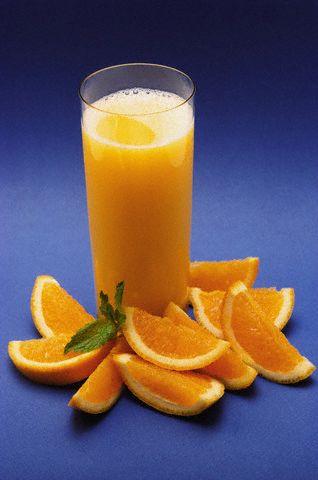 عصير البرتقال بالتفاح